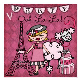 El cumpleaños de París del La del La de Ooh del ch Anuncios