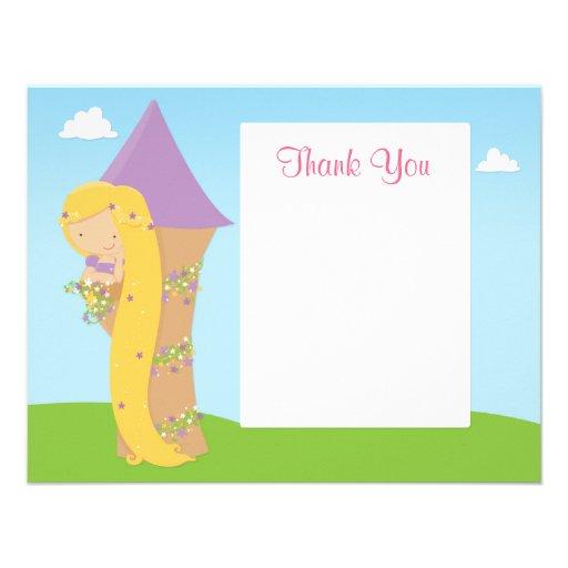 El cumpleaños de Rapunzel le agradece cardar Comunicados Personales