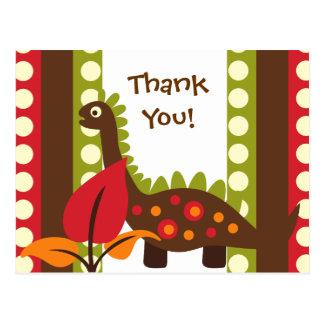 El cumpleaños del dinosaurio de Dino le agradece Postal