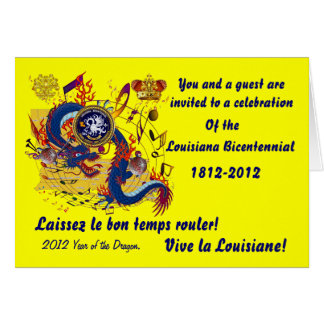 El cumpleaños Luisiana importante considera notas Tarjeta De Felicitación