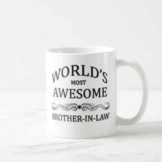 El cuñado más impresionante del mundo taza