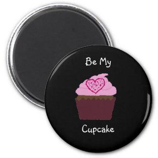 el cupcakesolo, sea mi, magdalena imán redondo 5 cm