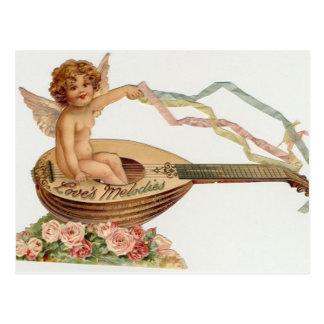 El Cupid de la tarjeta del día de San Valentín del Postal