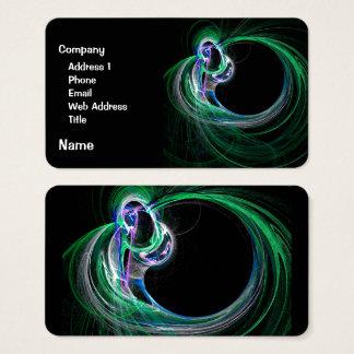 El curador tarjeta de visita