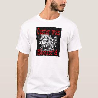 el custer era siouxs camiseta