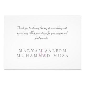El damasco islámico del Islam le agradece compromi Comunicado Personalizado
