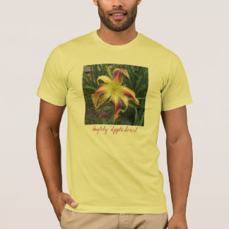 "El Daylily ""Apple remolina"" camiseta"