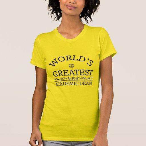 El decano académico más grande del mundo camisetas