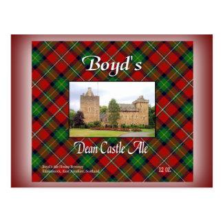 El decano Castle Ale de Boyd Postal