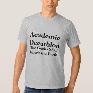 El Decathlon académico, los frikis heredará… Camisas