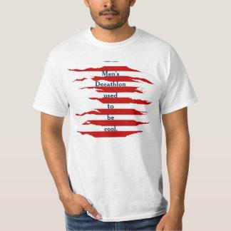 El Decathlon de los hombres Camiseta