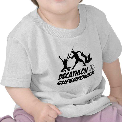 El Decathlon se divierte diseños Camiseta