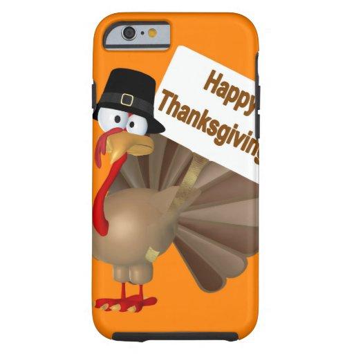 El decir divertido de Turquía: ¡'' Acción de Funda De iPhone 6 Tough