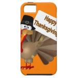 """El decir divertido de Turquía: ¡""""Acción de gracias iPhone 5 Fundas"""