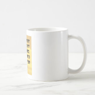 el decir skydiving taza de café