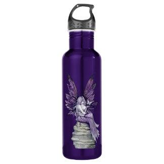 El dejar va hada y mariposa botella de agua