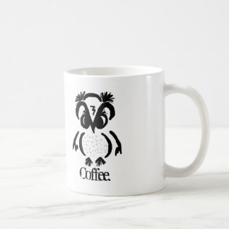 """El © del """"búho intratable """" AHORA necesita el café Taza De Café"""