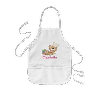 El delantal personalizado de Charlotte