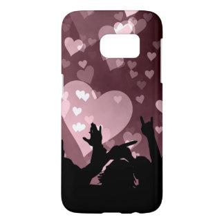 El delirio Samsung del corazón encajona Funda Samsung Galaxy S7