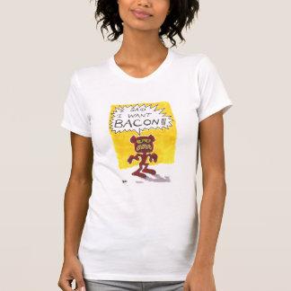 El demonio del tocino camiseta