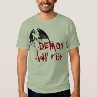 El DEMONIO subirá Camiseta