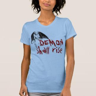 El DEMONIO subirá Camisetas