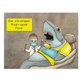 El dentista del tiburón, sea más fuerte que su postal