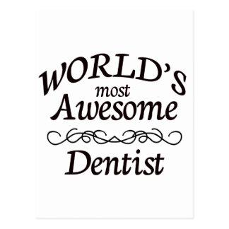 El dentista más impresionante del mundo postal