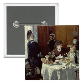 El desayuno, 1868 (aceite en lona) pin