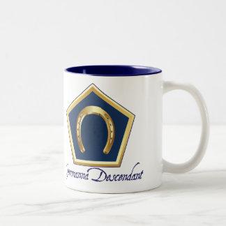 El descendiente de Germanna Dos-Entonó la taza