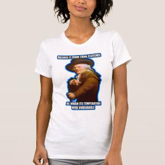 El descenso que tiene gusto de él es rap arcaico camiseta