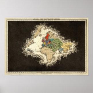 El descubrimiento del ANUNCIO 1498 de América Impresiones