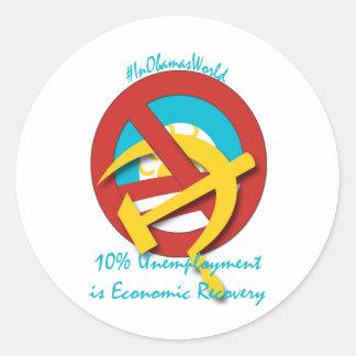 El desempleo del 10 es recuperación económica etiqueta
