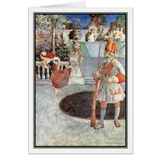 El deslizador de cristal de Millicent Sowerby Tarjeta De Felicitación