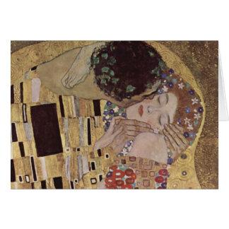 El detalle del beso - Gustavo Klimt Tarjeta
