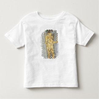 El detalle del caballero del friso de Beethoven Camiseta De Bebé