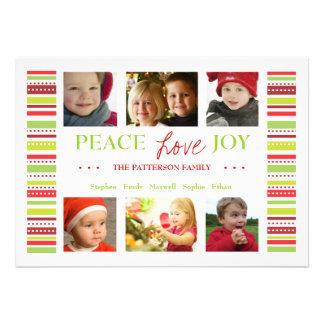 El día de fiesta de la alegría del amor de la paz