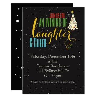 El día de fiesta de la risa y de la alegría invita invitación 12,7 x 17,8 cm