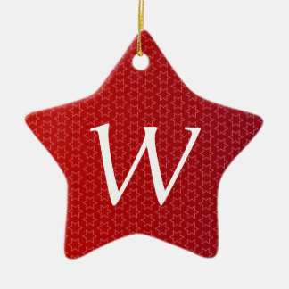 El día de fiesta rojo protagoniza idea del regalo adorno navideño de cerámica en forma de estrella