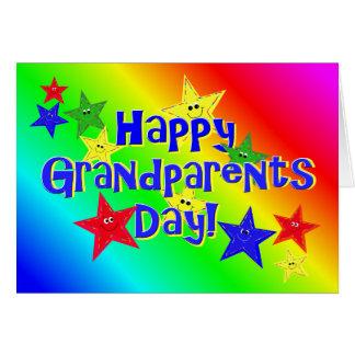 El día de los abuelos protagoniza la tarjeta