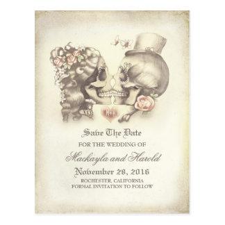 El día de los pares del cráneo de los muertos postal