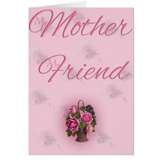 El día de madre 4 tarjeta de felicitación