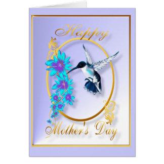 El día de madre con los pájaros del tarareo felicitaciones