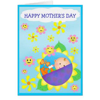 El día de madre/cumpleaños de encargo/nueva mamá tarjeta