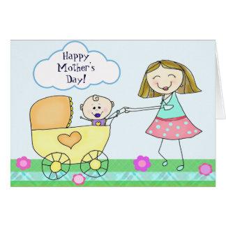 El día de madre de encargo/nueva tarjeta de