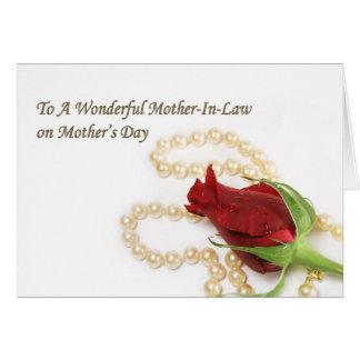 El día de madre de la suegra tarjeton