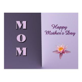 El día de madre feliz de la MAMÁ Postal