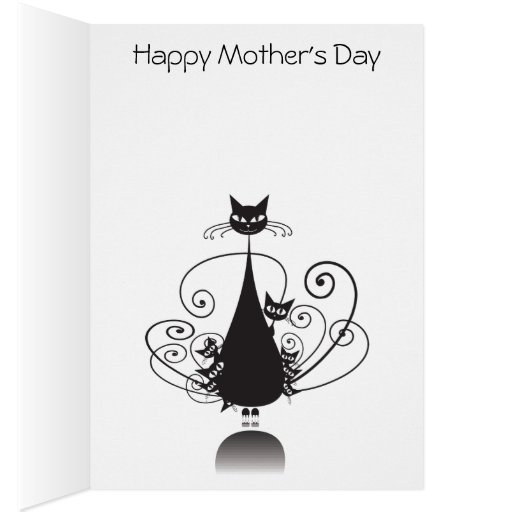 El día de madre feliz de las colas de O nueve del Felicitacion