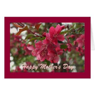 El día de madre feliz - modificado para requisitos tarjeta de felicitación