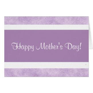 ¡El día de madre feliz! Tarjeta